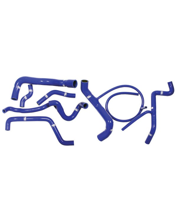 Samco Coolant Hose Kit for VR6 in Blue