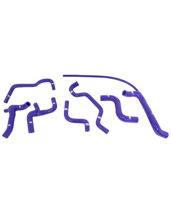 Samco Coolant Hose Kit for 2.0 16V ABF in Blue