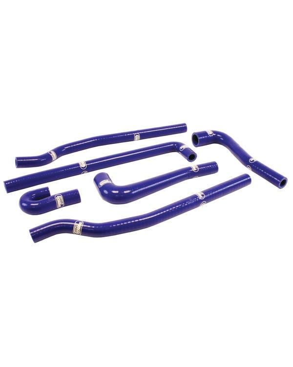 Samco Zusatzschlauchsatz, 1.6 & 1.8l GTI, blau