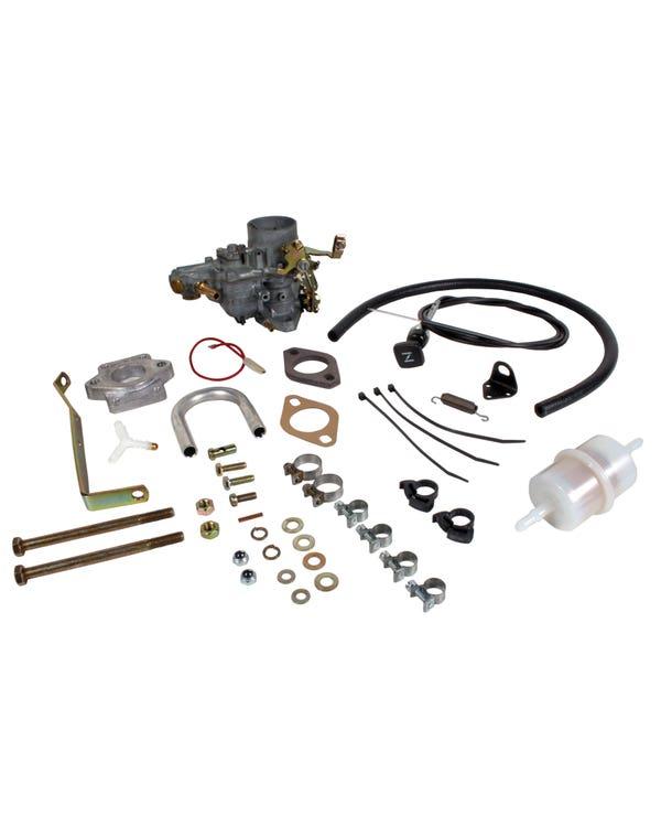 Weber Carburettor Kit - 34 ICH Manual Gearbox 1.5
