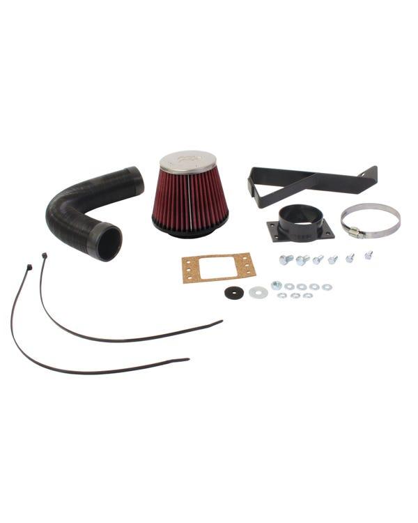 Kit de inducción de filtro de aire K&N 57i para motores GTI 8v Digifant