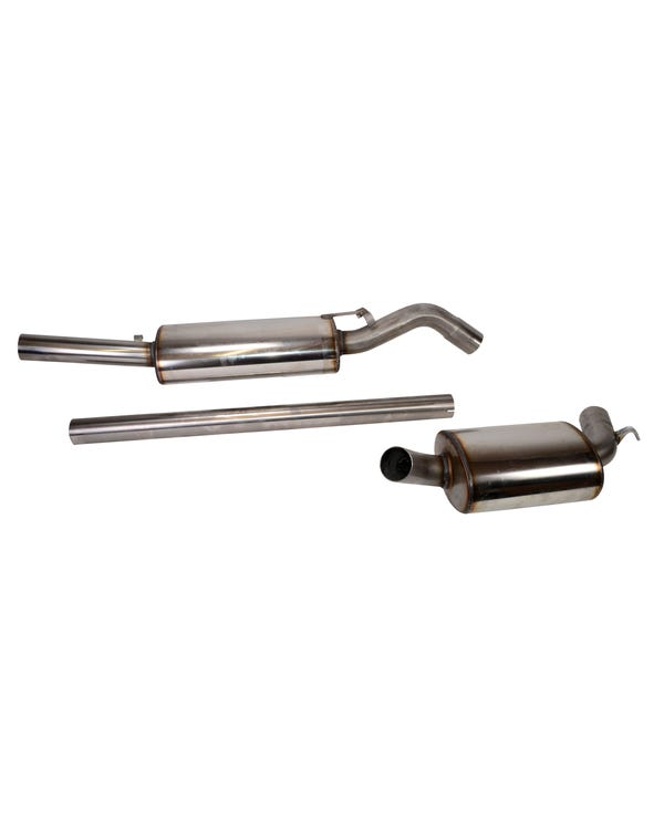 Stainless Steel Exhaust System for GTI 8V