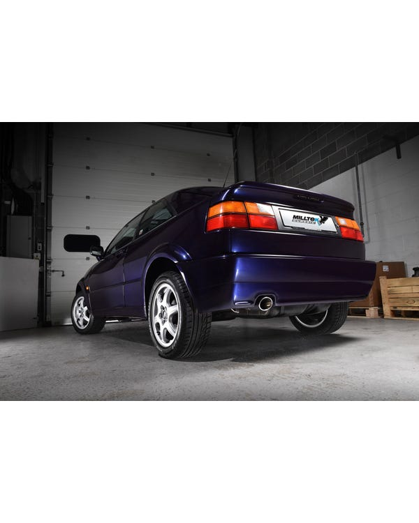 Non Resonated Exhaust System by Milltek for VR6