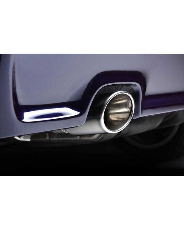 Resonated Exhaust System by Milltek for VR6
