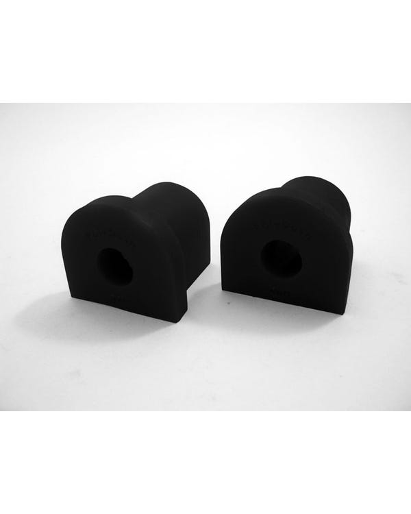 Polybush Front Wishbone Bush Black Pair