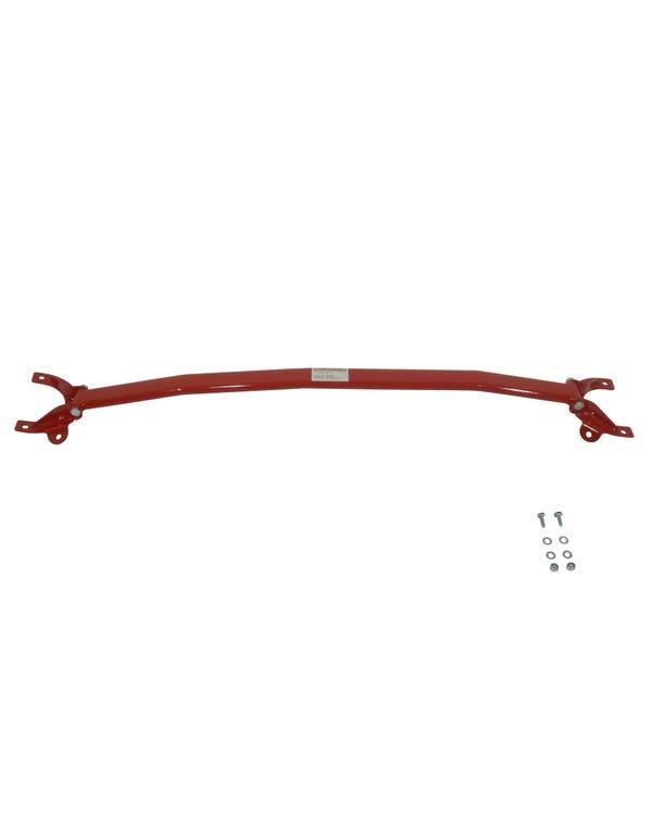 Wiechers Front Upper Strut Brace Steel Three Piece Red