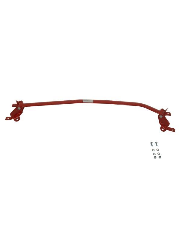 Wiechers Front Upper Strut Brace Three Piece Steel Red