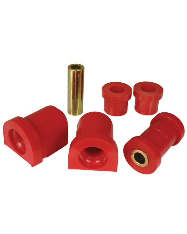 Urethane Front Wishbone Bush Kit Red