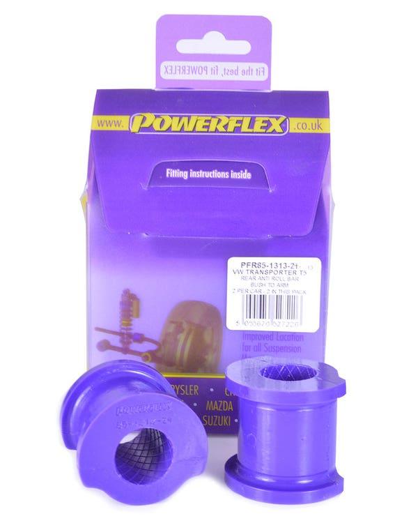 Powerflex Rear Anti-Roll Bar Bush 22mm Pair