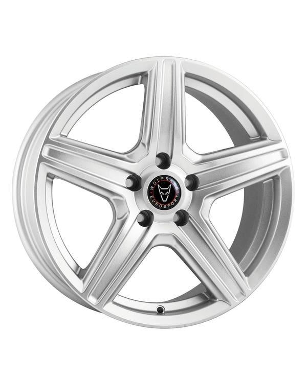 """Wolfrace TP5 Alloy Wheel 6Jx15"""" 5x112 Stud Pattern"""