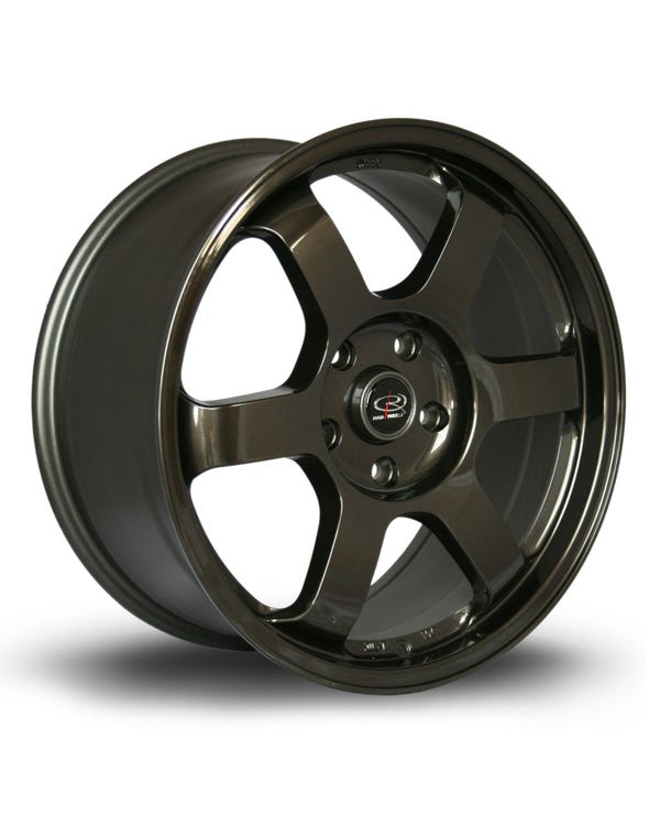 Rota Grid Alloy Wheel Gunmetal, 8.5x18'', 5/120 PCD, ET45