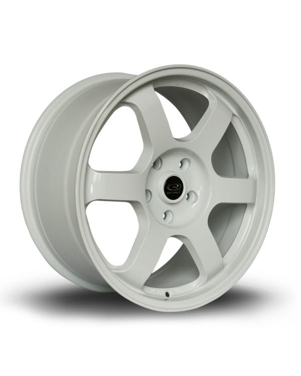 Rota Grid Alloy Wheel White 8.5x18'', 5/120 PCD, ET45