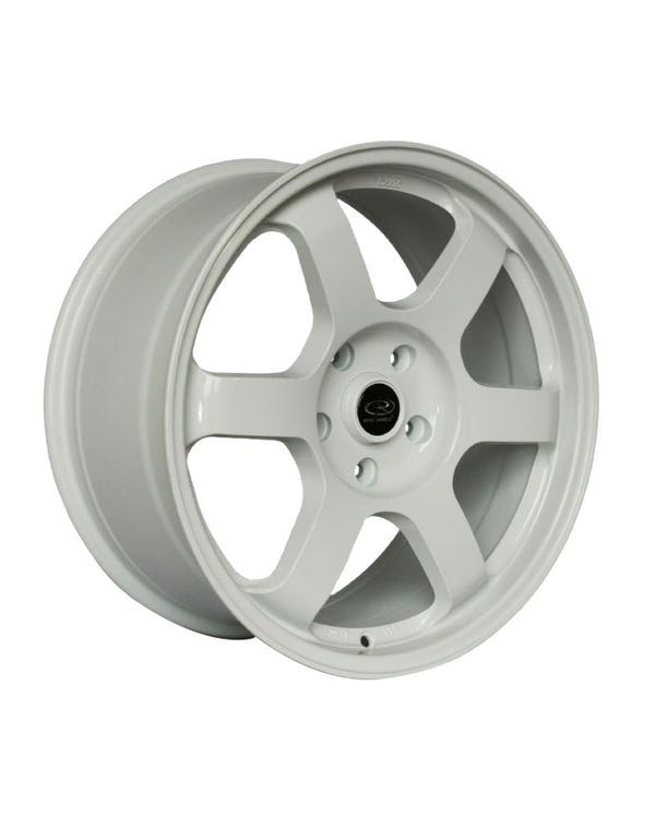 Rota Grid Alloy Wheel White, 8.5x18'', 5/112 PCD, ET45