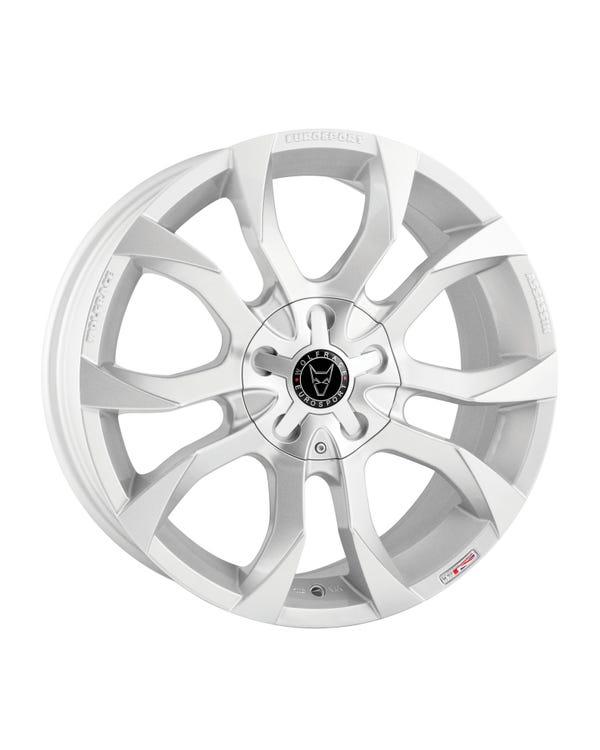 Wolfrace Assassin Alloy Wheel, Silver 8Jx18""