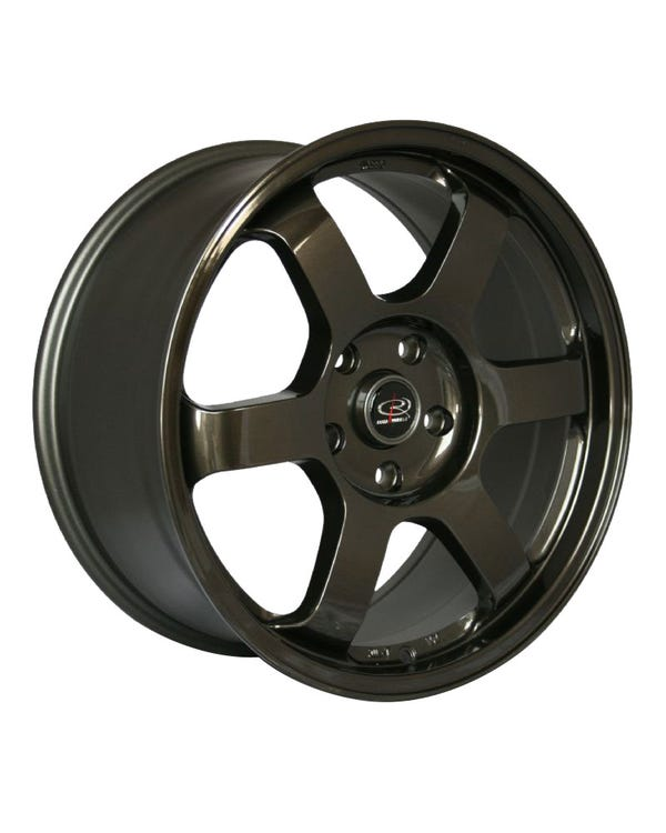 Rota Grid Alloy Wheel Gunmetal 8.5x18'', 5/112 PCD, ET45