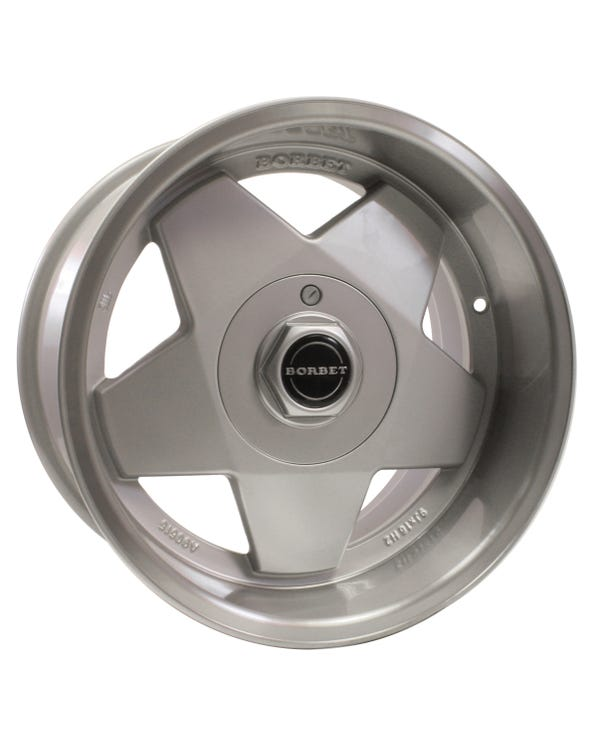 "Borbet A Alloy Wheel 9x16"", 4/100 PCD, ET15"