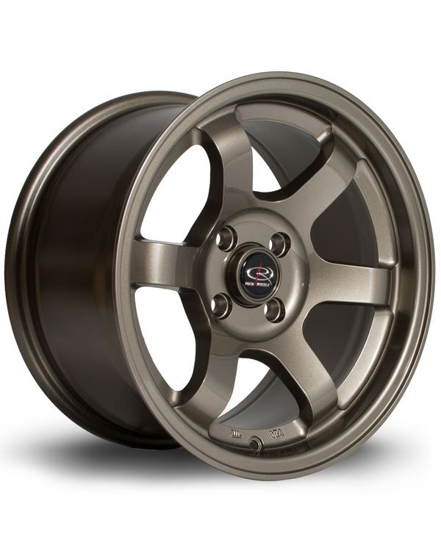 Rota Grid Alloy Wheel Bronze, 8x15'', 4/100 PCD, ET20