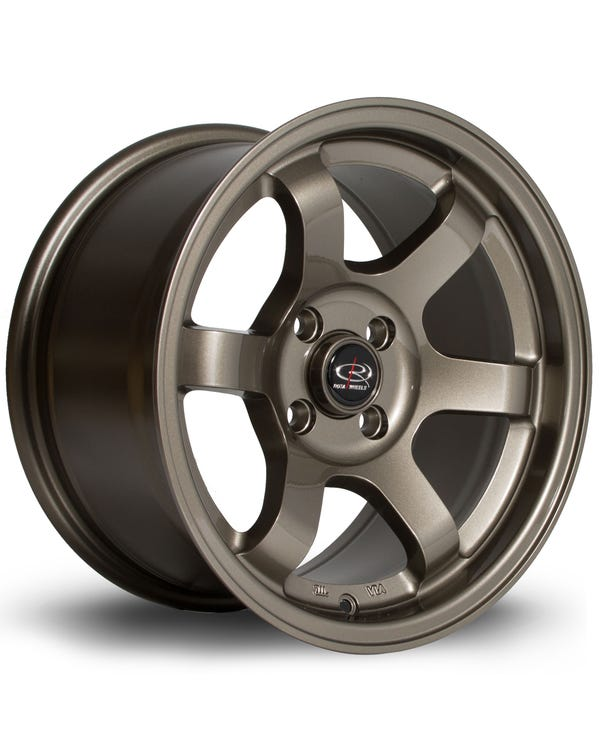 Rota Grid Alloy Wheel Bronze, 8x15'', 4/100 PCD, ET20