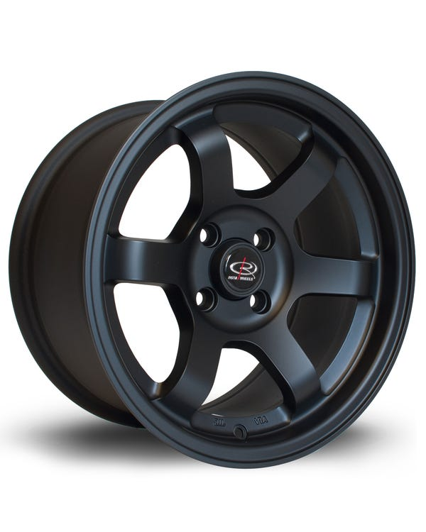 Rota Grid Alloy Wheel Matt Black 8x15'', 4/100 PCD, ET20