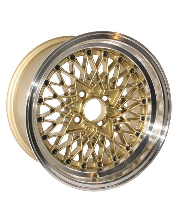 Rota OSMesh Alloy Wheel Gold 8x15'', 4/100 PCD, ET20