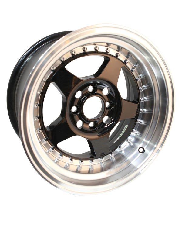 "Alloy Wheel, Rota Kyusha 8x15"", 4/100 PCD, ET0"