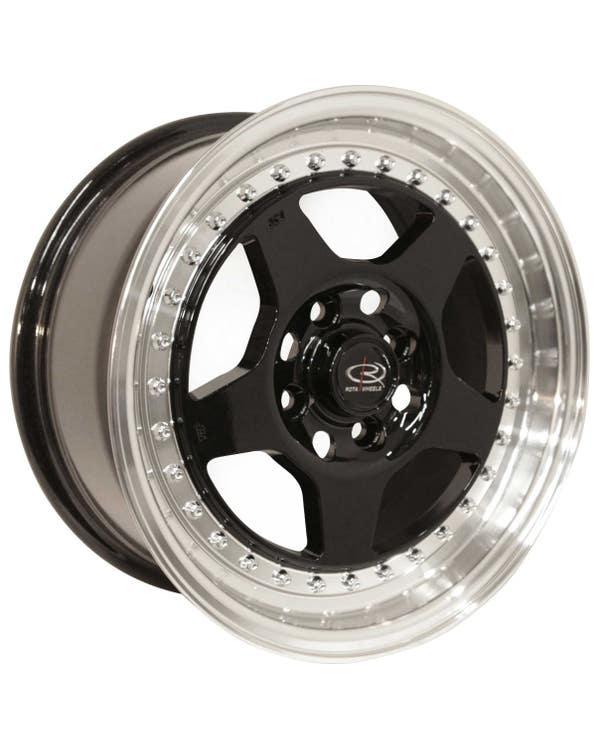 "Alloy Wheel, Rota Kyusha 7x15"", 4/100 PCD, ET38"