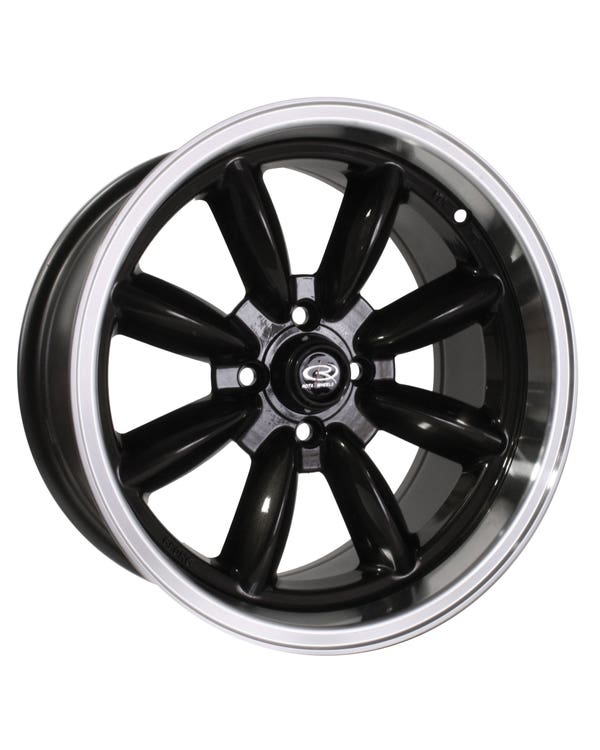 Rota RBR Alloy Wheel Gunmetal Polished, 8x16'', 4/100 PCD, ET10