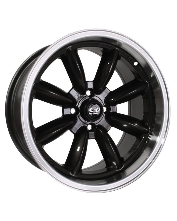 Rota RBR Alloy Wheel Gunmetal Polished, 8x16'', 4/100 PCD, ET10