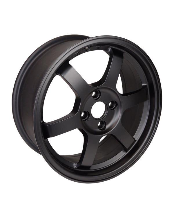 Rota Grid Alloy Wheel MAtt Black, 7x16'' 4/100 PCD, ET40