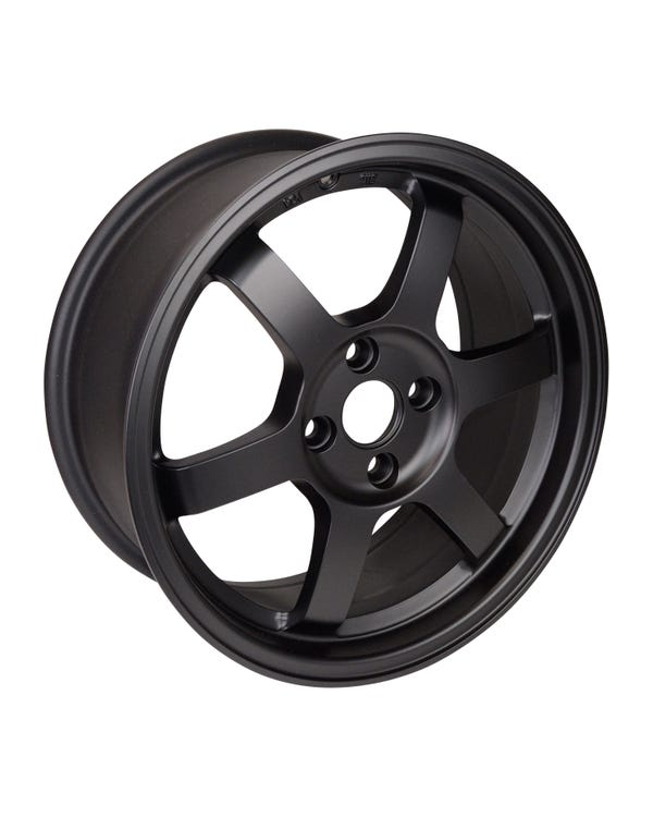 Rota Grid Alloy Wheel MAtt Black, 7x16'' 4/100 PCD, ET40