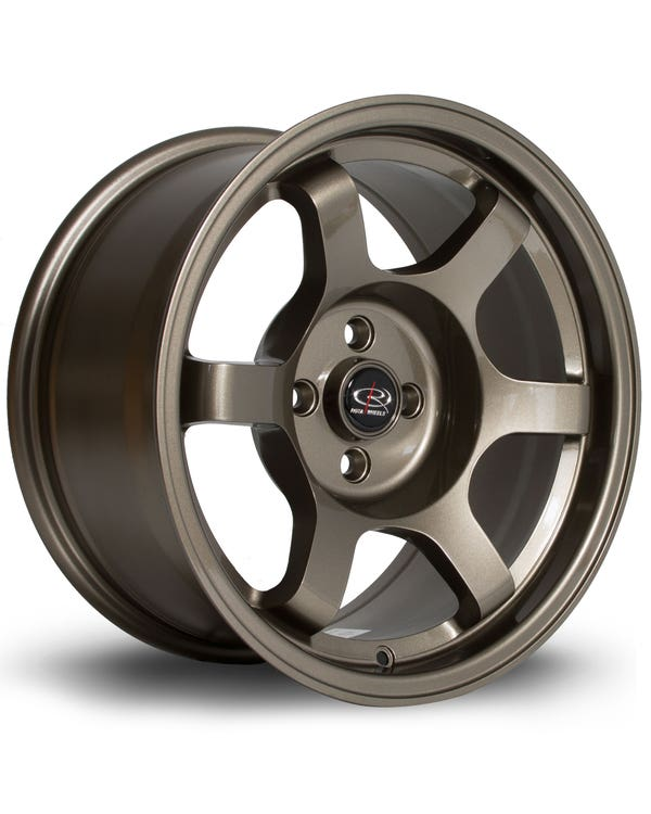 Rota Grid Alloy Wheel Bronze 8x16'', 4/100 PCD, ET10