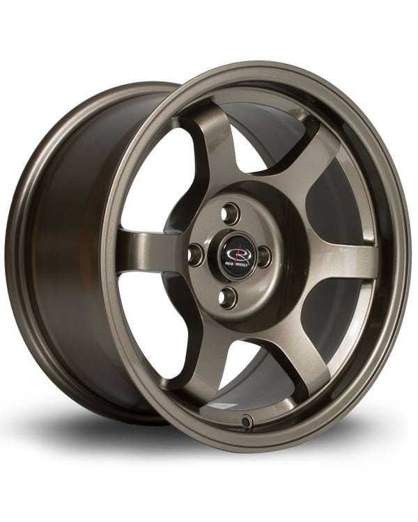 Rota Grid Alloy Wheel Bronze 8x16'', 4/100 PCD, ET10