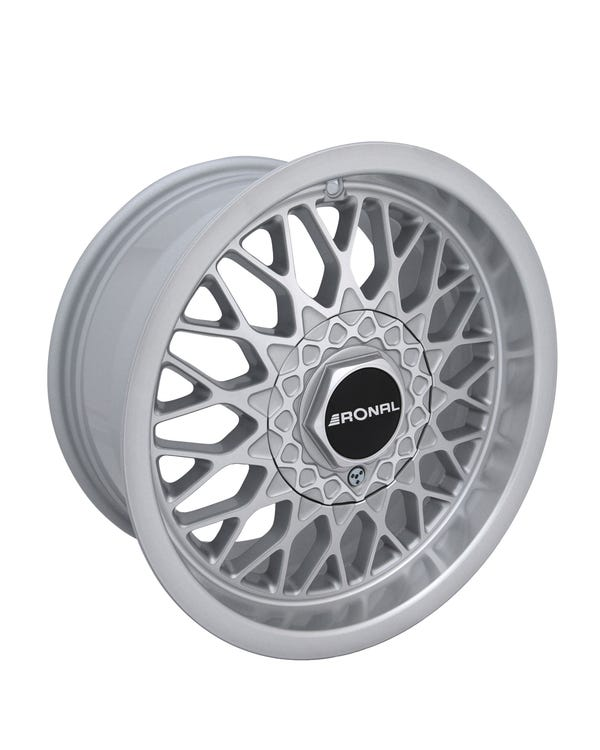 "LS Alloy Wheel Silver, 7.5x15"", 4/100 PCD, ET25"