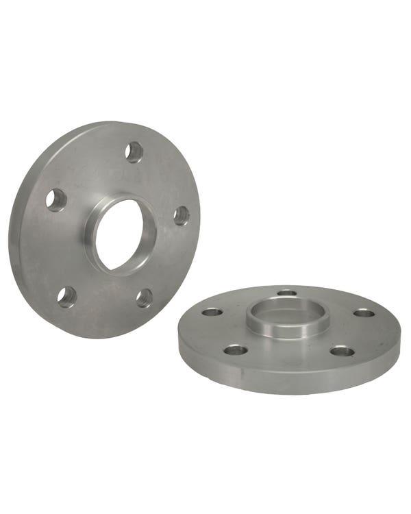 SSP Wheel Spacers 15mm Thick 5x112 Stud Pattern Aluminium Pair