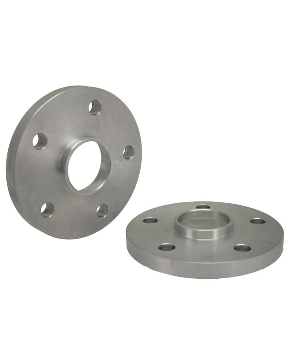 SSP Wheel Spacers 15mm Thick 5x112 Stud Pattern Aluminium Pair