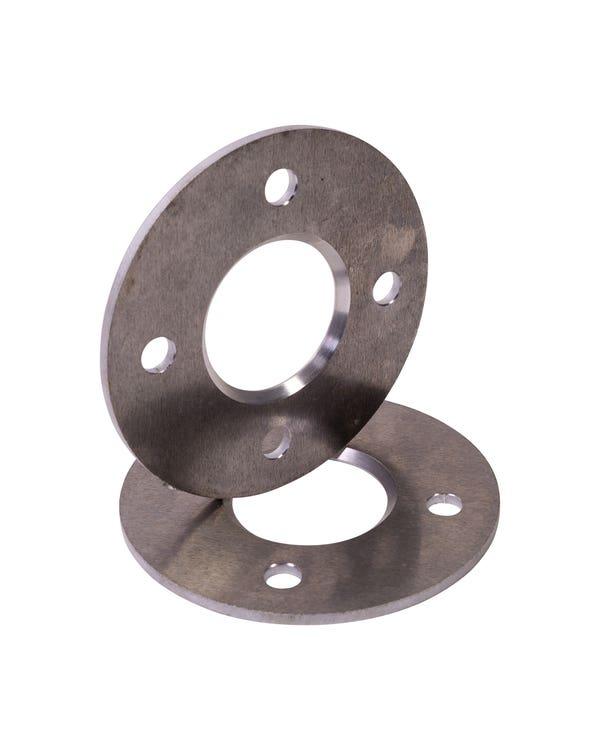 Wheel Spacers 5mm 4x100 Flat