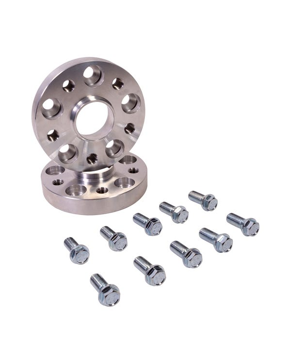 Wheel Spacers 25mm 5x112 Bolt-on Hubcentric