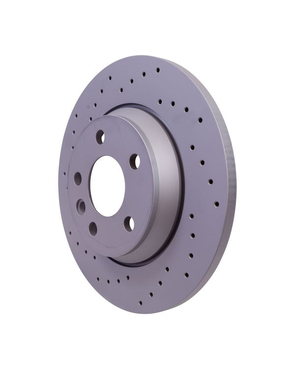 Sport Cross-Drilled Solid Rear Brake Discs 294x13.5mm PR-2E3