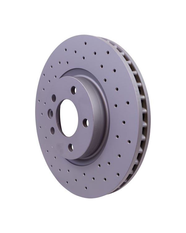 Sport Cross-Drilled Vented Front Brake Discs 333x32.5mm PR-2E4