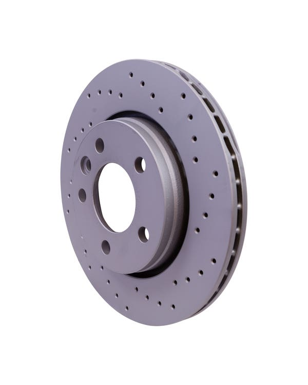 Sport Cross-Drilled Vented Rear Brake Discs 294x22mm PR-2E3 & 2E4