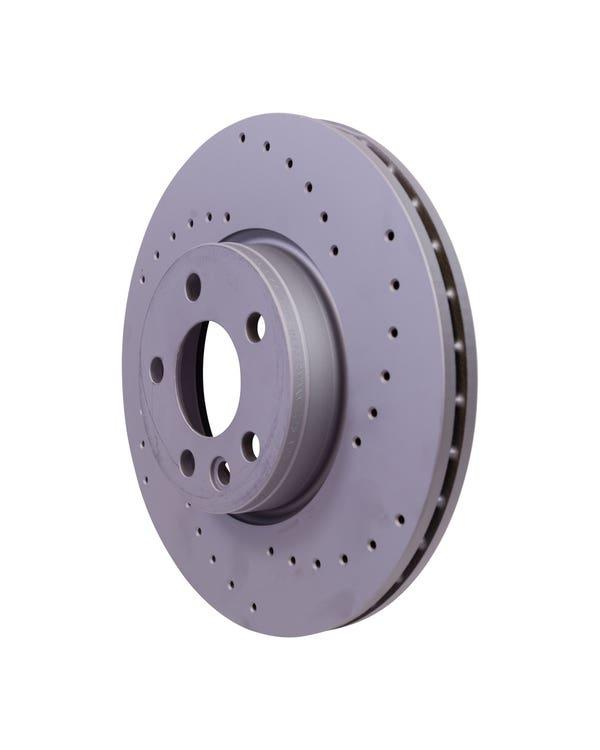 Sport Cross-Drilled Vented Front Brake Discs 313x26mm PR-1LB
