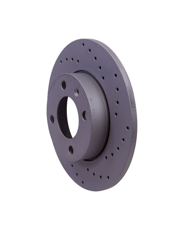 Sport Cross-Drilled Solid Front Brake Discs 239x10mm