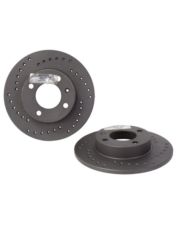 Black Diamond Brake Discs 239x10mm Solid Drilled Pair