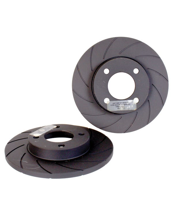 Black Diamond Front Brake Discs 239x12mm Solid Grooved Pair