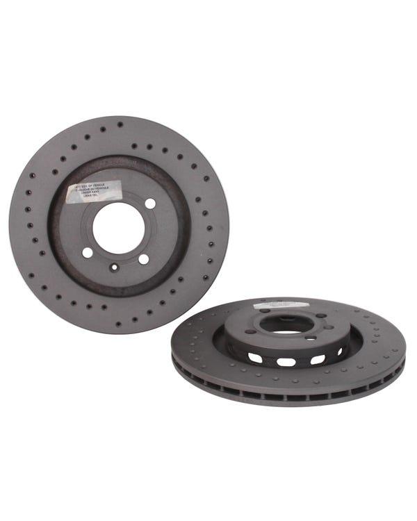 Bremsscheiben, Black Diamond, 280x22 mm, gebohrt, Paar