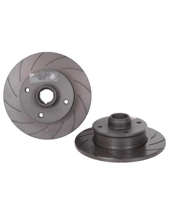 Black Diamond Rear Brake Rotors 226x10mm Grooved Pair