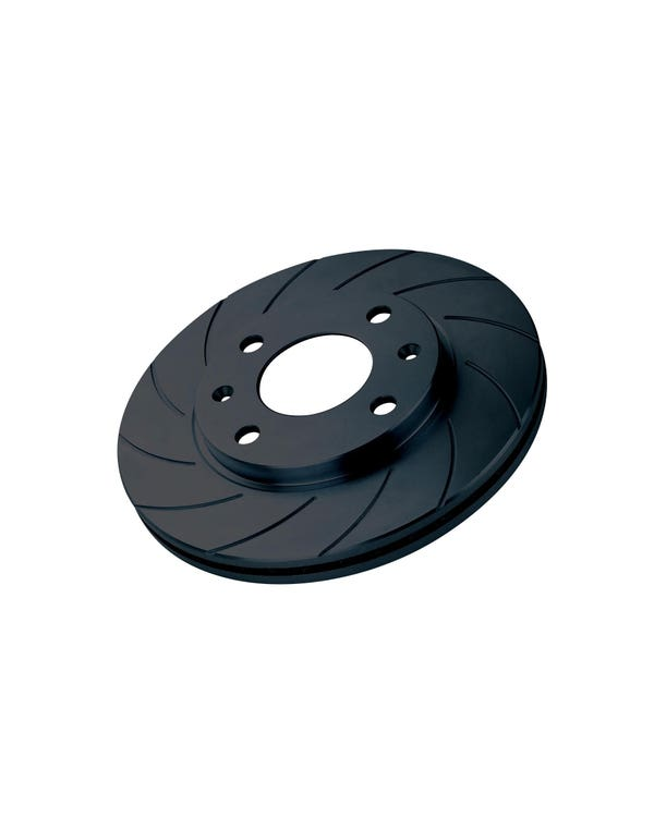 Black Diamond Grooved Front Brake Rotors 280x22mm