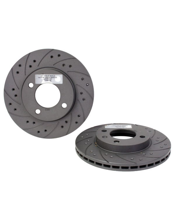 Black Diamond Front Brake Discs 239x20mm Vented Pair