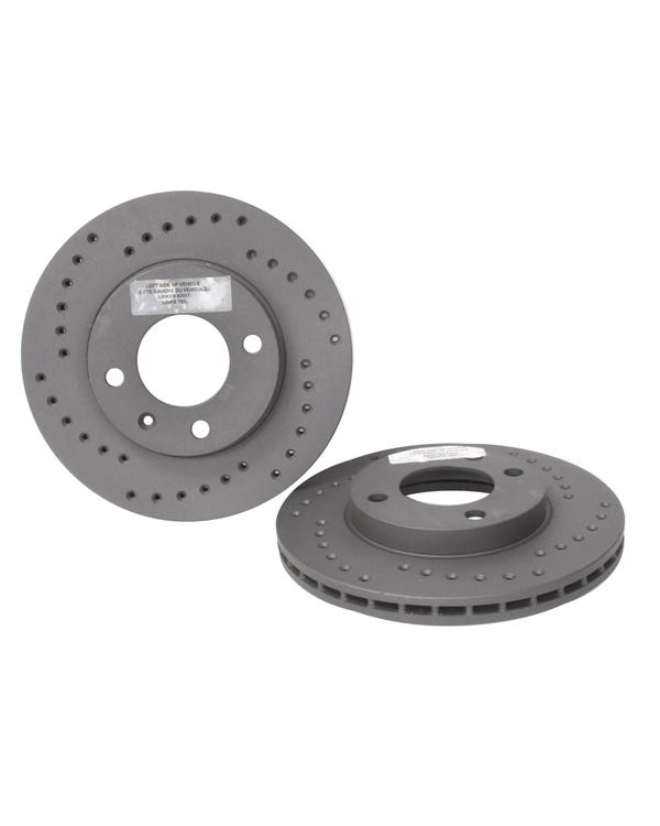 Black Diamond Front Brake Discs 239x20mm Drilled Pair