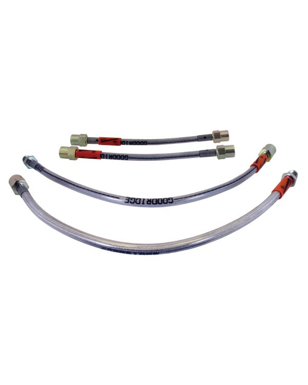 Goodridge Stainless Steel Braided Brake Hose Kit